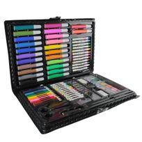 Créateurs de génie - Mallette de coloriage Arc en ciel - 86 Accessoires