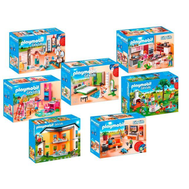 9266_9272 Maison moderne - 7 boîtes 9266+9267+9268+9269+9270+9271+9272