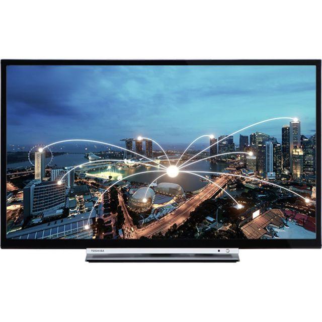 """Toshiba Téléviseur 24W1753DG - Hd - 23.6 Affichage Diagonale réelle de l'image cm / pouce : 59,9cm/ 23,6"""" Résolution de la dalle : Hd (1366X768) Technologie de dalle : Led 4K Uhd : Non Rétroéclairage Dled / Eled / Oled : Dled Memc / Progressivescan :"""