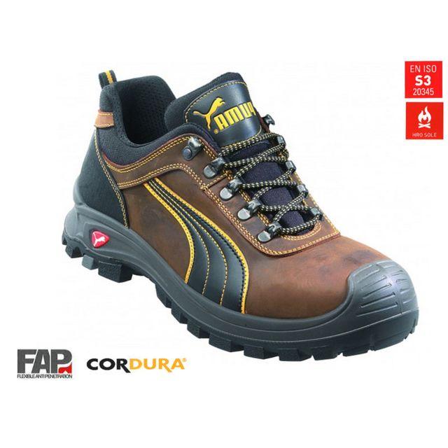 9de41337c19d90 Puma - Chaussures de sécurité Scuffcaps HRO basses Pointure 40 64073 ...