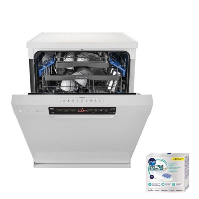 Candy Lave-vaisselle posable Blanc 43dB A++ 15 couverts 60cm Départ différé