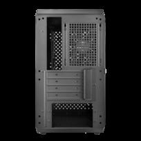 MasterBox Q300L - Micro-ATX - Gris - Avec fenêtre