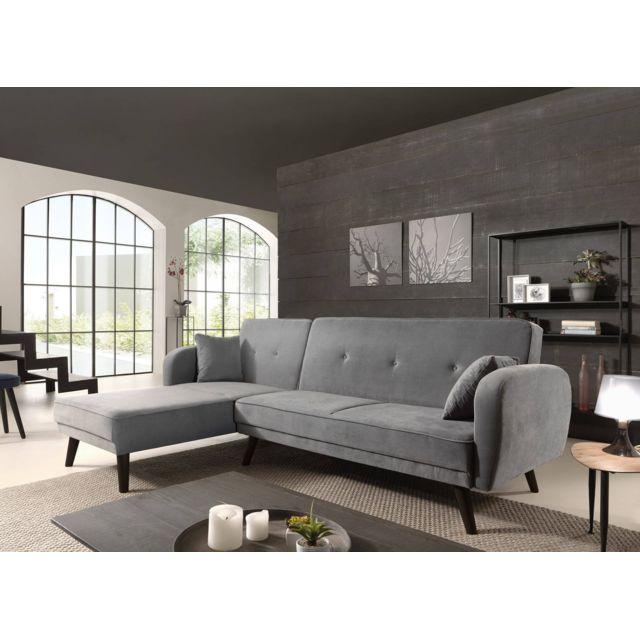 bestmobilier olaf canap d 39 angle r versible scandinave. Black Bedroom Furniture Sets. Home Design Ideas