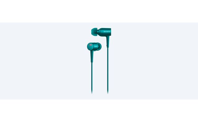 SONY Ecouteurs avec micro intra-auriculaire MDR-EX750NA anti-bruit Bleu