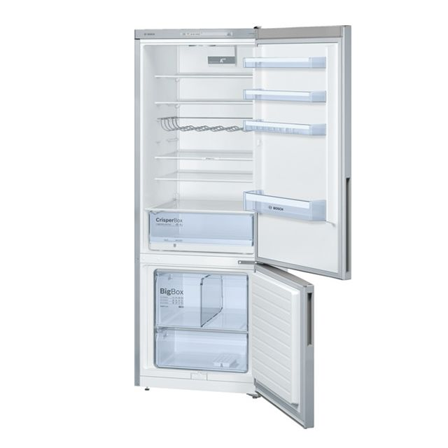 Bosch - réfrigérateur combiné 70cm 505l a++ brassé silver - kgv58vl31s
