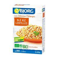 Bjorg - Mélange Blé Riz Lentilles Bio 2x165g