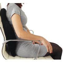 Mendler - Coussin dossier mousse pr sièges fauteuils de bureau coussin pr maintien lombaires