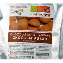 Scrapcooking - Chocolat De Couverture 190 Grammes - Chocolat Au Lait