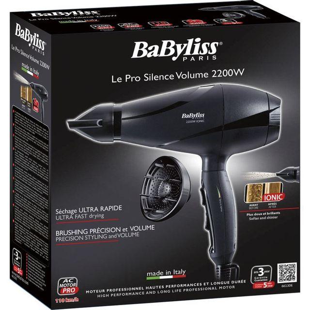 BABYLISS - Sèche-cheveux Pro Silence Volume 6613DE