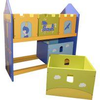 etagere bac enfant achat etagere bac enfant pas cher rue du commerce. Black Bedroom Furniture Sets. Home Design Ideas