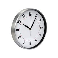 Perel - Horloge Murale Dcf En Aluminium - Ø 30 Cm