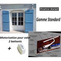 Pratic volet - Kit motorisation filaire Volet Battant Sur Mesure Ou Recoupable 2 vantx Standard