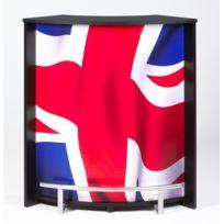 Bonareva - Comptoir de bar - London - Drapeau anglais - Noir