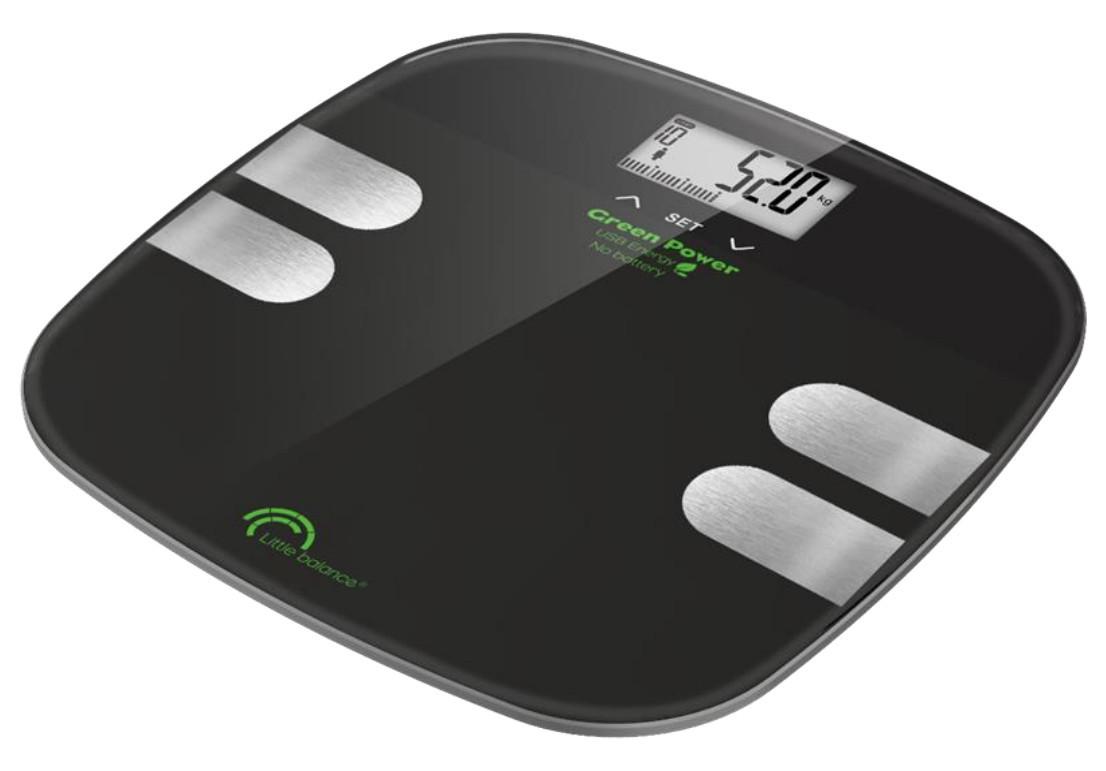 Pèse personne Body Soft Noir - 8230