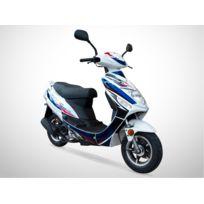Jiajue - Scooter 50cc 4T - Spiro 50 Édition Limitée 2018 - Série Spéciale - Bleu