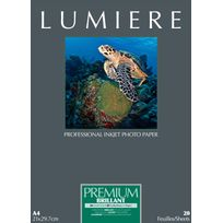 LUMIERE - Papier photo Premium Brillant - 13x18cm