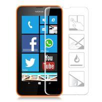 Cabling - Film de protection d'écran en verre trempé pour Nokia Lumia 630/635 Transparent