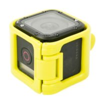 Wewoo - Cadre de protection jaune pour session GoPro Hero5 / session Hero4 / session Hero Support de à profil bas