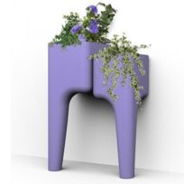 Hurbz - Jardinière multi-pots violet Kiga S en polypropylène