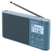 SONY - radio portable numérique bleu - xdrs41dbp bleu