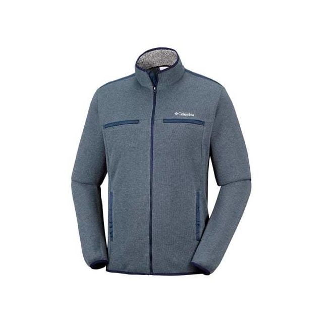 389abad4a0072 Columbia - Polaire Terpin Point Iii Full Zip gris Multicolour - pas ...
