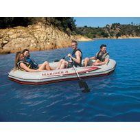 INTEX - Set bateau gonflable 4 places Mariner 4