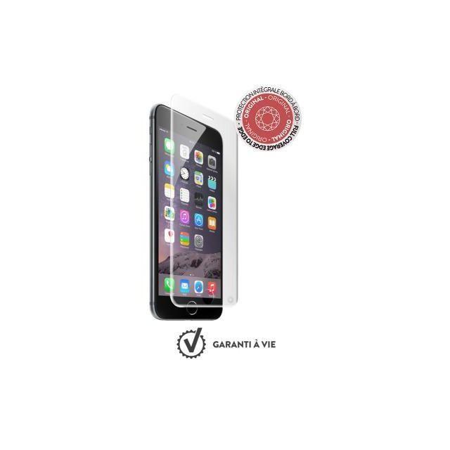 force glass prot ge cran verre tremp incurv pour iphone 7 8 avec kit de pose pas cher. Black Bedroom Furniture Sets. Home Design Ideas