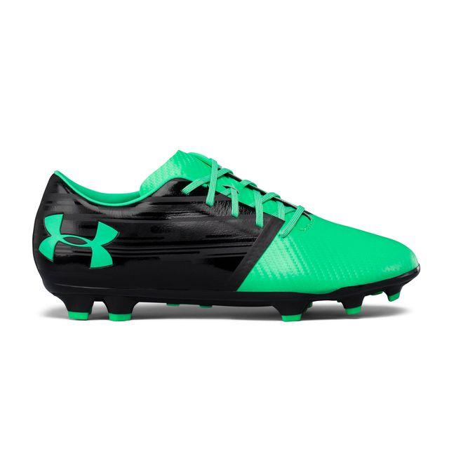 new concept c0c75 bf6b9 Under Armour - Chaussures football Spotlight Fg Vert noir - pas cher Achat    Vente Chaussures foot - RueDuCommerce