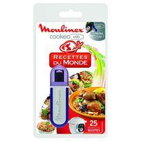 MOULINEX - clé usb 25 recettes du monde pour cookeo ce7021 - xa600100