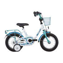 Vermont - Vélo Enfant - Girly - Vélo enfant 12 pouces - bleu