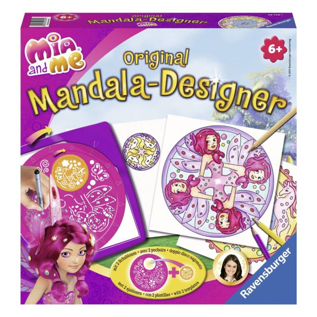 Ravensburger - Mandala Designer Original : Mia and Me