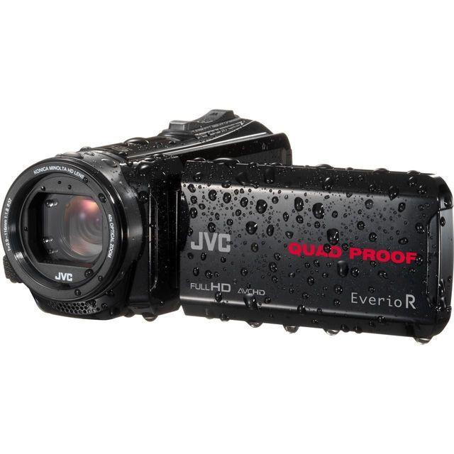 JVC Caméscope numérique EverioR GZ - GZR435BEU - Noir Le + :StabilisationQualité vidéo :Full HDEcran :Tactile orientableZoom optique :x40
