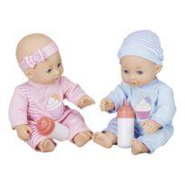 AIMANTINE - Mes jumeaux poupons et leurs 2 biberons