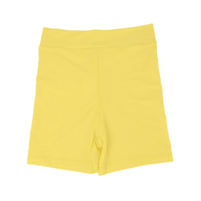 >Femmes stretch spandex gym gym maigre minis shorts pantalons chauds 3xl jaune