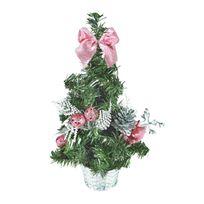Vimeu-Outillage - Petit Sapin de Noël avec Décorations
