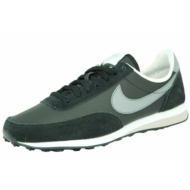 Nike elite leather si chaussures mode homme cuir noir