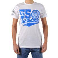 Beandbe Touchdown - T-shirt be and Be Touchdown 55 Blanc / Bic
