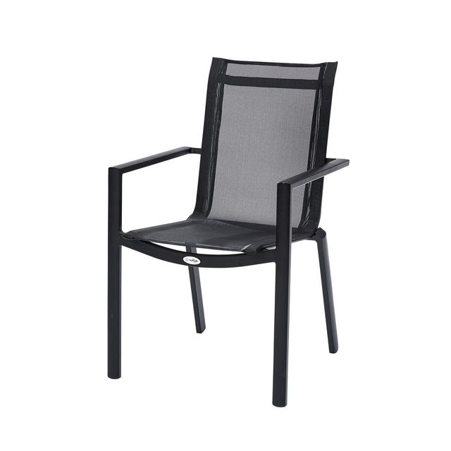 Wilsa Fauteuil Black Star - Noir - Tables & Ensembles Black Star