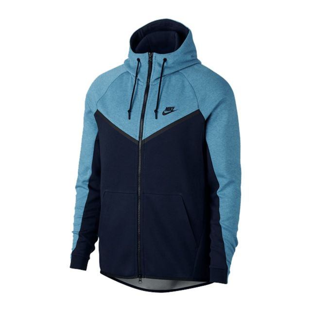 nike tech fleece homme bleu