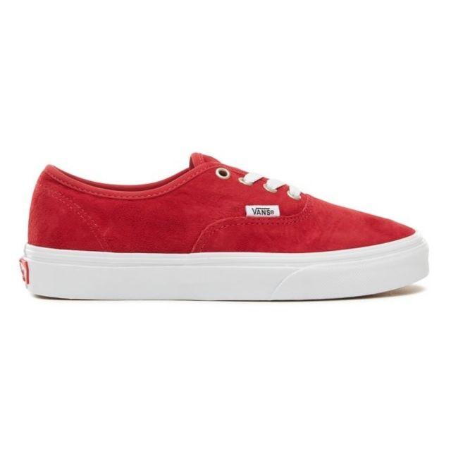 vans authentic rouge femme