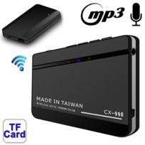 Wewoo - Enregistreur vocal Dictaphone Transmission vocale sans fil Cx-990 lecteur Mp3 et fonction d'enregistrement carte Tf