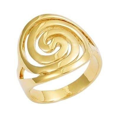 bague or spirale