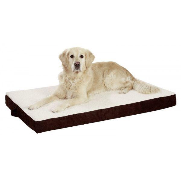 karlie flamingo matelas orthobed marron karlie n a pas cher achat vente corbeille pour. Black Bedroom Furniture Sets. Home Design Ideas