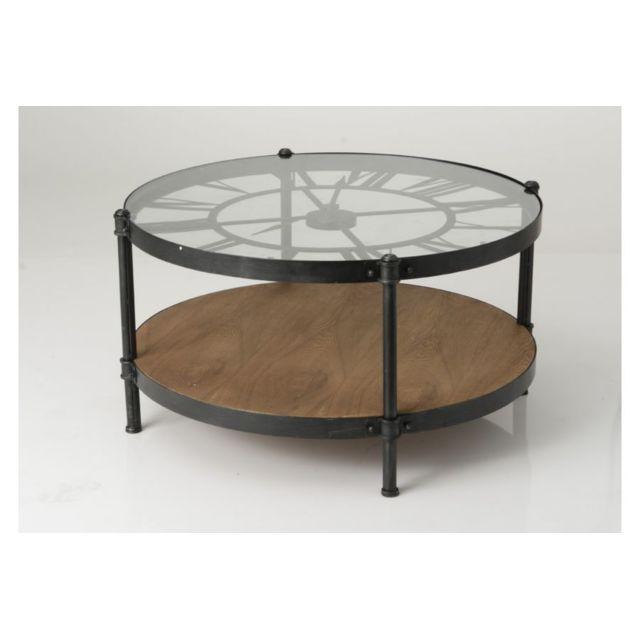 hellin table basse horloge sebpeche31. Black Bedroom Furniture Sets. Home Design Ideas
