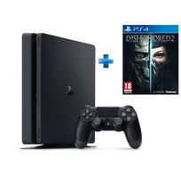 Pack Nouvelle PS4 500GO + Dishonored 2