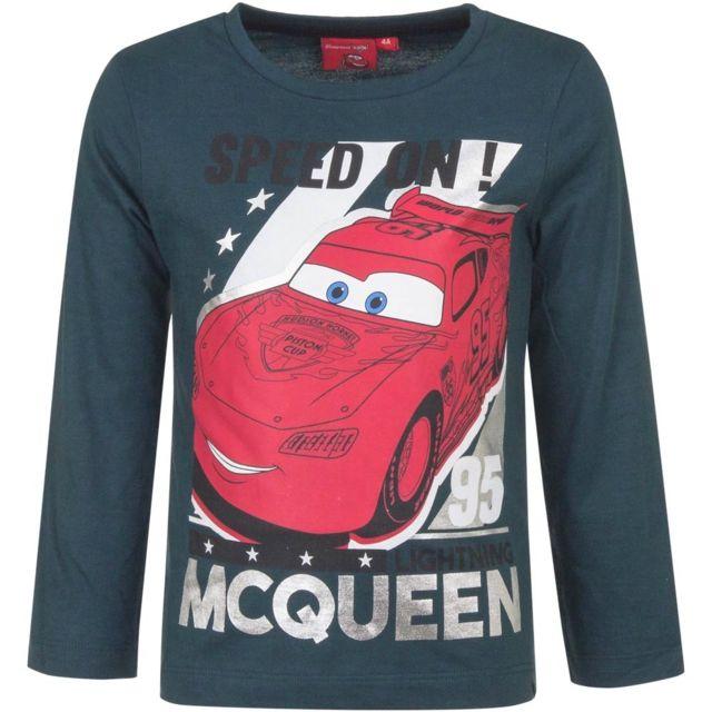 Marque Generique - Pull Sweat Cars T-shirt manche longue 3 ans bleu mod1 e542814babb