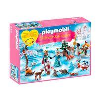 Playmobil - 9008 Christmas - Calendrier de l'Avent Famille royale en patins à glace