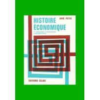 Cujas - histoire économique ; les faits et les idées