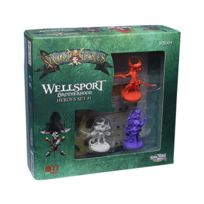 Cool Mini Or Not - Jeux de société - Rum And Bones Vf: Wellsport Brotherhood Hero Set 1