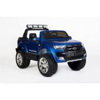 Ford - Voiture électrique Enfant 12V Ranger 4x4 Bleu métal